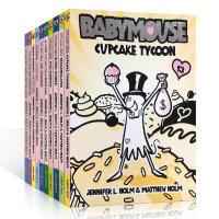 英文原版启蒙儿童章节书 BABYMOUSE #11: DRAGONSLAYER 老鼠宝宝11-20册桥梁小说7-9岁阅
