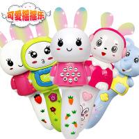 哈比比玩具 2978儿童早教音乐棒BB棒 带灯光音乐故事机宝宝音乐