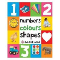 Numbers,Colours Shapes 早教触摸书:数字颜色形状