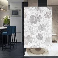 静电磨砂玻璃贴膜透光不透明窗花纸办公室浴室卫生间自粘窗户玻璃贴纸窗花纸