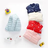 儿童棉服女童棉衣小童婴儿上衣中小童棉外套男童宝宝棉服冬装内胆