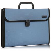 12格文件夹事务包办公用品 风琴包 财务手提式公文包