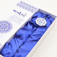 青花瓷书签民族特色纪念品
