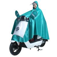 太空雨衣电动车摩托车单人雨衣单人时尚电动车雨衣