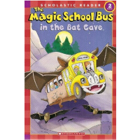英文原版Magic School Bus Science Reader: In The Bat Cave (Level 2)神奇校车科学读物:蝙蝠洞 阅读版