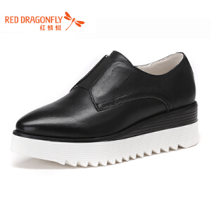 红蜻蜓女鞋秋冬休闲鞋板鞋女鞋子WTB7283