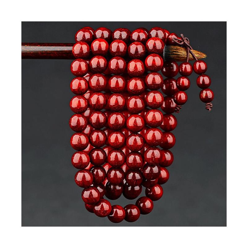 印度小叶紫檀手串2.0满金星男老料高密小叶紫檀木佛珠手链108颗女 发货周期:一般在付款后2-90天左右发货,具体发货时间请以与客服协商的时间为准