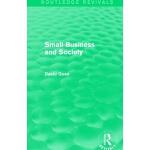 【预订】Small Business and Society (Routledge Revivals)