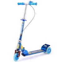 儿童三轮滑板车闪光减震折叠踏板车小孩滑滑车儿童滑板车