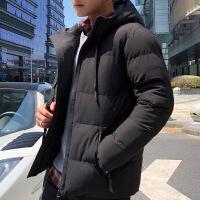 棉衣男2018新品冬季青年韩版潮流时尚加厚棉袄秋冬季男士棉衣