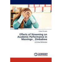 【预订】Effects of Streaming on Academic Performance in