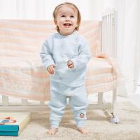 PWU1743065大嘴猴(Paul Frank)婴儿长袖圆领纯棉套装