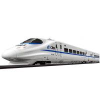 顺嘉 声光和谐号动车仿真电动轨道火车可前进后退蒸汽火车可拆装儿童益智拼搭玩具 中款22842
