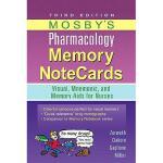 【预订】Mosby's Pharmacology Memory Notecards: Visual