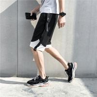 夏季新款短�休�e�男�\�友�五分�ulzzang港�Lbf潮流�W生��性潮