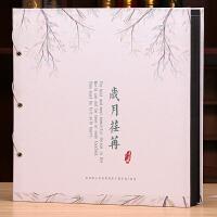 相册本插页式家庭大容量4R 6寸1000张过塑照片可放皮质相册影集