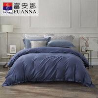 富安娜家纺 酷奇智萌趣卡通公主风纯棉床上用品 单件床单被罩