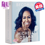 【中商原版】米歇尔・奥巴马自传 Becoming Michelle Obama Random House US 有声书