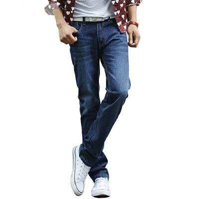 1号牛仔  男装时尚休闲简约直筒牛仔裤男长裤