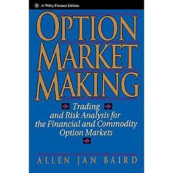 【预订】Option Market Making: Trading And Risk Analysis For 美国库房发货,通常付款后3-5周到货!