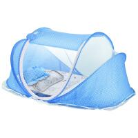 蚊罩蒙古包带支架通用婴儿蚊帐宝宝纹帐可折叠儿童小孩bb床