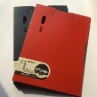 晨光新品彩色A4双强力夹红色加厚材料双强力夹办公板夹档案资料夹办公双强力夹