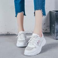 2018夏季新款女鞋休闲鞋网布鞋透气学生网面运动跑步鞋