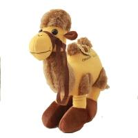 毛绒公仔礼物送女生 骆驼毛绒玩具 可爱敦煌骆驼毛绒玩具公仔玩偶布娃娃生日礼物抓机娃娃