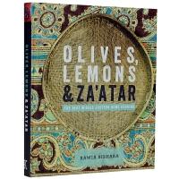 OLIVES, LEMON & ZA'ATAR 橄榄、柠檬、阿塔尔 中东比萨饼 中东美食风味 菜谱教程书籍
