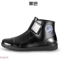 春秋雨鞋男士韩国时尚短筒雨靴胶鞋夏季低帮透气水鞋 3588 40码 标准运动鞋码