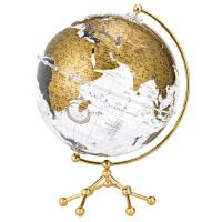 【正版直发】博目地球仪:25cm中英文金色政区透明地球仪 北京博目地图制品有限公司 9787520412698 中国地