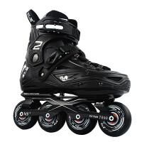 旱冰平花闪光鞋 溜冰鞋直排轮男女初学轮滑鞋