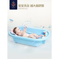 婴儿洗澡盆宝宝浴盆儿童泡澡桶坐躺椅沐浴盆家用