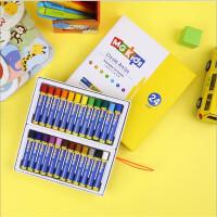 晨光文具M&GKIDS学生水溶性蜡笔儿童易可洗油画棒24色ZGM91130