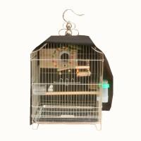 新款鹦鹉鸟笼子大号不锈钢豪华大型方笼八哥画眉牡丹金属繁殖全套