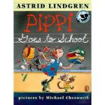 【预订】Pippi Goes to School: Picture Book