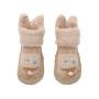 婴儿学步鞋袜0-6-12个月秋冬季加厚宝宝鞋袜1-3岁防滑儿童地板袜