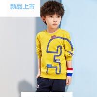 童装男童套装纯棉2018春季新款中大童儿童套头韩版春装潮