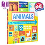 【中商原版】地球上的地理:动物 The Illustrated Geography of Our World:Anim