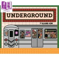 【中商原版】Uijung Kim:各处的地铁 Underground: Subways Around The World