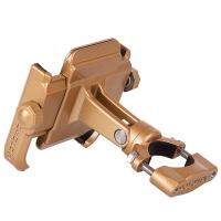 铝合金电动摩托车手机导航支架自行车手机固定架机车装备防震通用