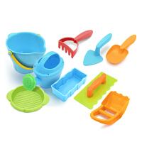 沙滩玩具宝宝海边挖沙玩沙挖土工具戏水大号套装组合水桶铲子