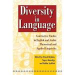 【预订】Diversity in Language: Contrastive Studies in