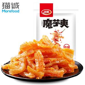 卫龙 馋魔芋爽180g 素毛肚辣条片麻辣休闲小吃零食面筋素肉