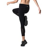 高腰弹力紧身裤运动裤女紧身裤女运动健身速干裤女 超薄透气夏季薄款跑步裤瑜伽裤女