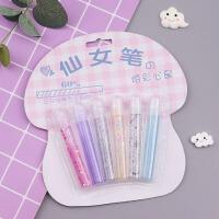 韩国可爱小仙女水晶笔网红立体6色亮晶晶装饰笔创意手工diy泡泡笔