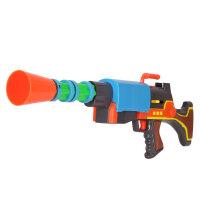 美高乐 熊出没 玩具猎枪 儿童玩具枪声光电动枪 光头强机关枪MG208