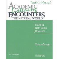 【预订】Academic Listening Encounters: The Natural World