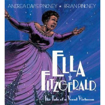 【预订】Ella Fitzgerald: The Tale of a Vocal Virtuosa 美国库房发货,通常付款后3-5周到货!