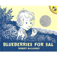 Bluebrries for Sal (1949 Caldecott Honor Book) 《小塞尔采蓝莓》(1949